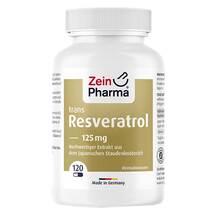Produktbild Resveratrol 125 Caps