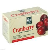 Produktbild Cranberry Acerola Baders Filterbeutel
