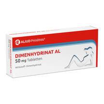 Produktbild Dimenhydrinat AL 50 mg Tabletten