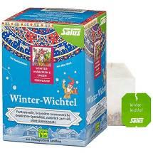 Winter Wichtel Bio Tee Beutel Salus