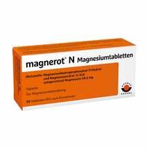 Produktbild Magnerot N Magnesiumtabletten