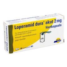 Produktbild Loperamid dura akut 2 mg Hartkapseln