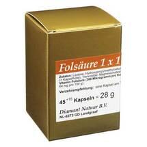 Produktbild Folsäure 1X1 pro Tag Kapseln