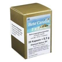 Produktbild Beta Carotin 1 x 1 Pro Tag Kapseln