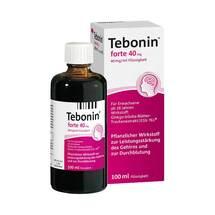 Produktbild Tebonin forte 40 mg Lösung