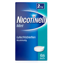 Produktbild Nicotinell Lutschtabletten 2 mg Mint zuckerfrei