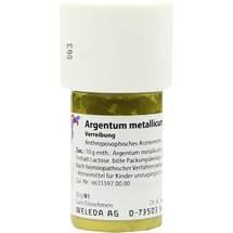 Argentum metallicum Präparat D 10 Trituration