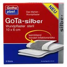 Produktbild Gota Silber Wundpflaster 6x10 cm steril
