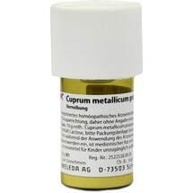 Cuprum metallicum Präparat D 20 Trituration