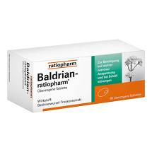 Produktbild Baldrian Ratiopharm überzogene Tabletten