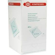 Produktbild Mullkompressen 5x5cm 12-fach