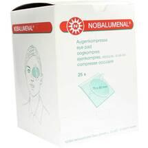 Nobalumenal Augenkompr.75x80