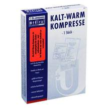 Kalt-Warm Kompresse Flexi 12x29cm mit 10cm Klettb.