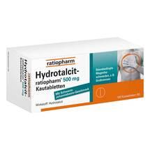Hydrotalcit ratiopharm 500 mg Kautabletten