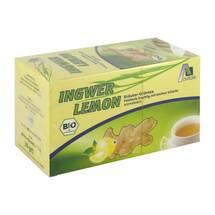 Produktbild Ingwer Lemon Biotee Filterbeutel