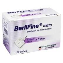 Produktbild Berlifine micro Kanülen 0,25x5 mm