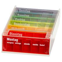 Produktbild Anabox 7 Tage Regenbogen mit Einnahmeplan