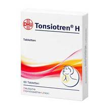 Produktbild Tonsiotren H Tabletten