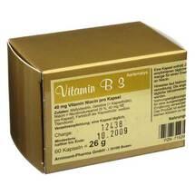Produktbild Vitamin B3 Aartemarys Kapseln