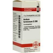 Produktbild Acidum formicicum D 200 Globuli