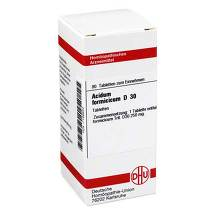 Acidum formicicum D 30 Tabletten