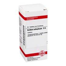 Produktbild Acidum salicylicum D 6 Tabletten