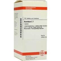 Produktbild Aconitum C 7 Tabletten
