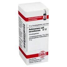 Antimonium sulfuratum aurantiacum D 1
