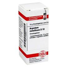 Produktbild Argentum metallicum D 10 Globuli