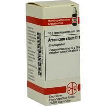 Produktbild Arsenicum album D 15 Globuli