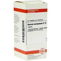 Produktbild Asarum europaeum D 12 Tabletten