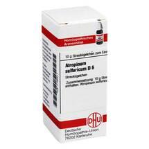 Produktbild Atropinum sulfuricum D 6 Globuli