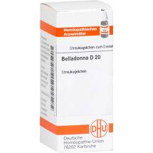 Produktbild Belladonna D 20 Globuli