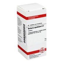 Produktbild Berberis aquifolium D 3 Tabletten