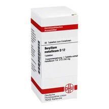 Produktbild Beryllium metallicum D 12 Tabletten