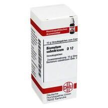 Bismutum Subnitricum D 12 Gl