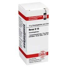 Produktbild Borax D 10 Globuli