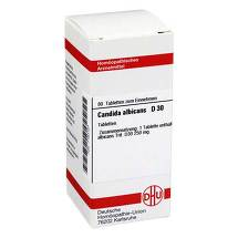 Candida albicans D 30 Tabletten