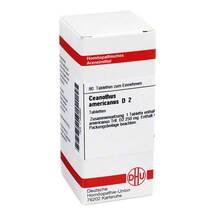 Produktbild Ceanothus americanus D 2 Tabletten