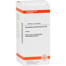 Produktbild Ceanothus americanus D 30 Tabletten