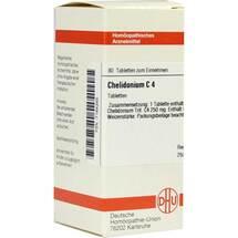 Produktbild Chelidonium C 4 Tabletten