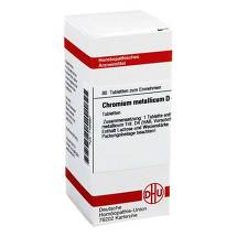 Chromium metallicum D 4 Tabletten