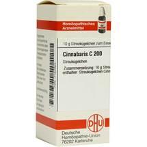 Produktbild Cinnabaris C 200 Globuli
