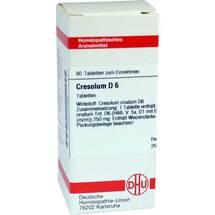 Produktbild Cresolum D 6 Tabletten