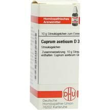 Produktbild Cuprum aceticum D 3 Globuli