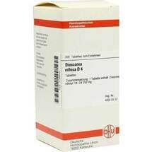 Produktbild Dioscorea villosa D 4 Tabletten