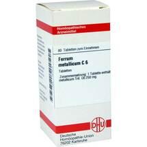 Produktbild Ferrum metallicum C 6 Tabletten