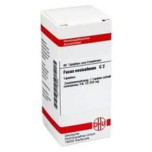 Produktbild Fucus vesiculosus C 2 Tabletten