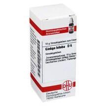 Produktbild Ginkgo biloba D 6 Globuli