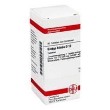 Produktbild Ginkgo biloba D 12 Tabletten
